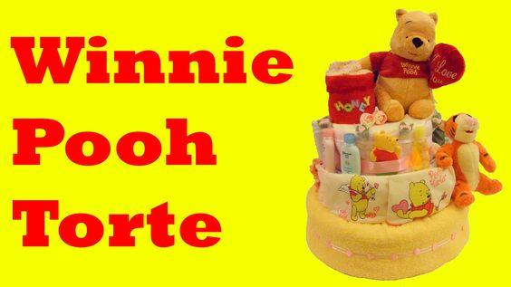 Winnie Pooh Torte selber machen Anleitung | einfache Kuchen – Sahnetorte...