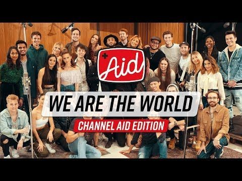 We Are The World 2018 Channel Aid With Kurt Hugo Schneider Youtube Artists Youtube Musicartists Mus Youtube Artists Kurt Hugo Schneider Youtube Stars