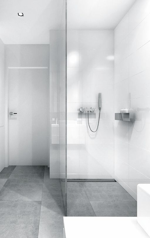 Grey Grey Bathrooms And Wall Tiles On Pinterest