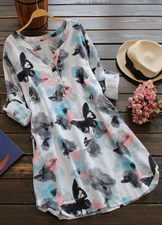 Pre-order for 10% Off, gorgeous printing casual dress is perfect for almost any occasion! Love that color, that fit and that comfort! Get more choices at Cupshe.com !: