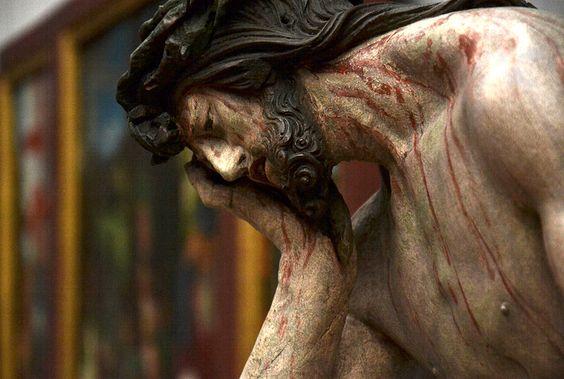 #german #sculpture c 1520 Hans Leinberger, Christus im Elend