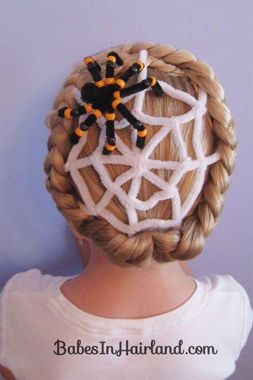 Pin On Halloween Hairstyle Ideas