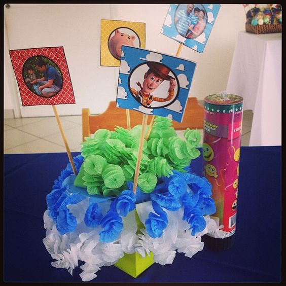 Toy Story table decoration: