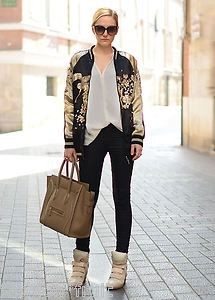 Embroidered bomber jacket ebay – Jackets photo blog