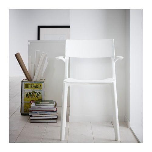 Inredning källare lekrum : JANINGE Stol med armlener, hvit   Källare, Lekrum och Ikea