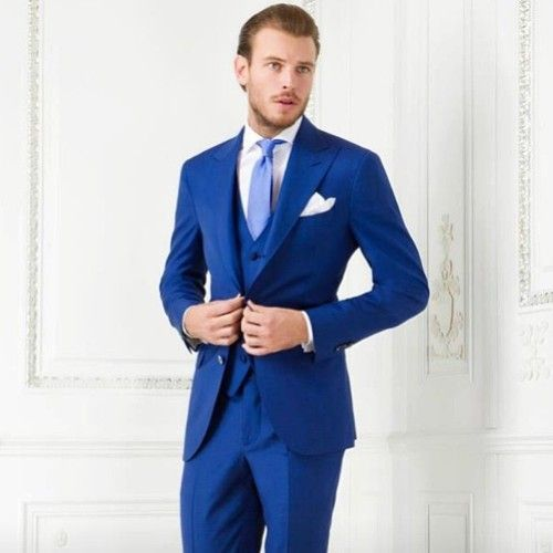 Bleu electrique costume