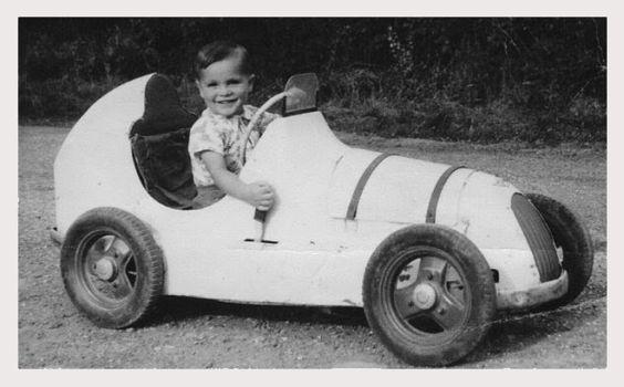 Vintage Race Car pedal car
