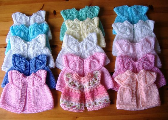 Knitting Clothes For Premature Babies : Premature baby tops and hats charity knitting http
