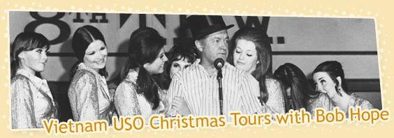 The Original Golddiggers Official Website | Vietnam USO Christmas Tours with Bob Hope