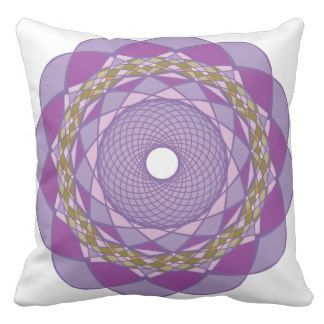 Circular Ornaments 2 Pillow