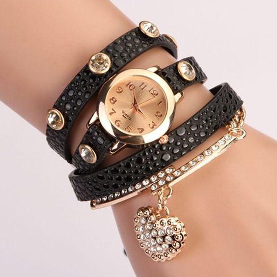 Womens Costume Wrap Around  Wrist Watches