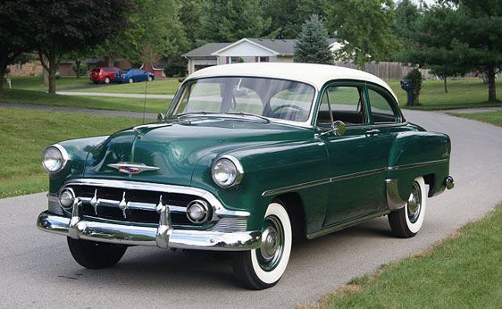 1953 Chevrolet Two Ten 2 Door Sedan I Had One Along Time Ago Classic Chevrolet Chevrolet Classic Cars Trucks