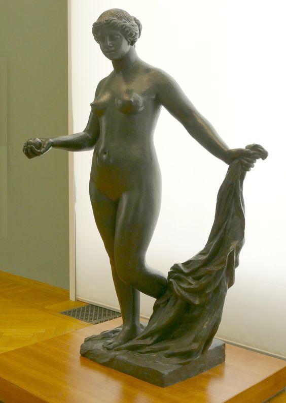 Fundición de la Venus Victoriosa en el Ekebergparken Sculpture Park de Oslo, Noruega