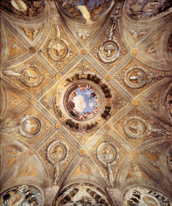 Pinterest the world s catalog of ideas for Mantegna camera degli sposi