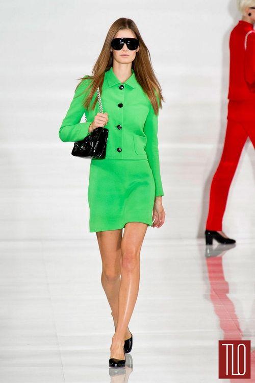 Ralph Lauren Spring 2014 (green)