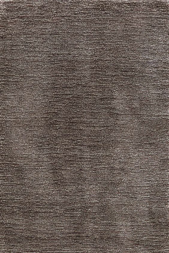 RugStudio presents Dash And Albert Speckle Grey Hand-Tufted, Good Quality Area Rug, 8' X 10':
