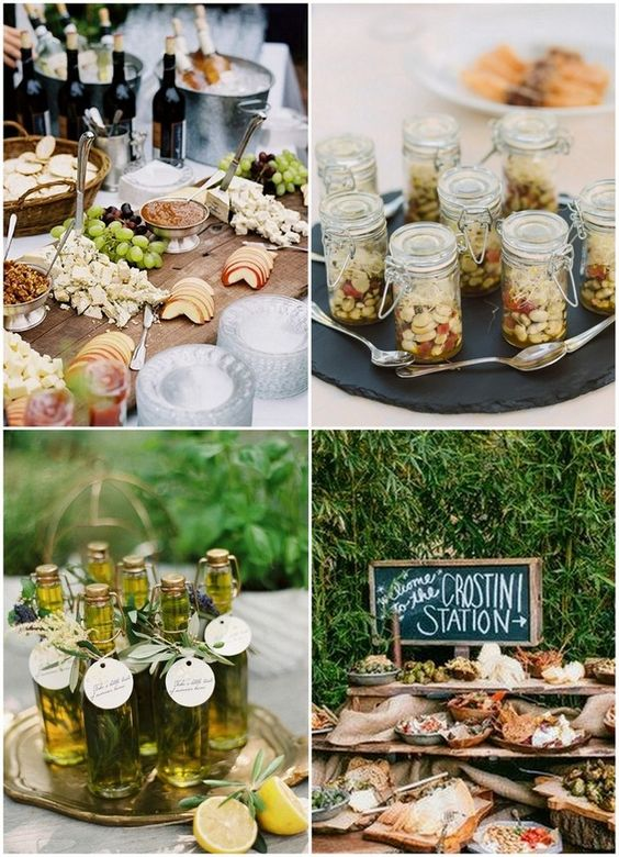 15 wedding food stations your guests will love wedding for Canape ideas for weddings