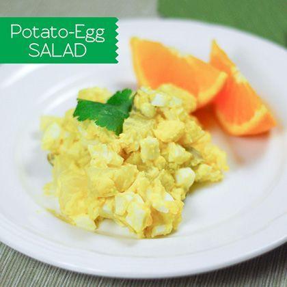 Potato egg salad, Egg salad and Salads on Pinterest