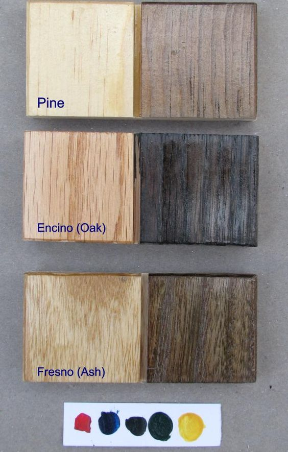 Ebonizing wood using a homemade vinegar steel wool solution diy steps test sample results on - Clean cabinets using homemade solution ...
