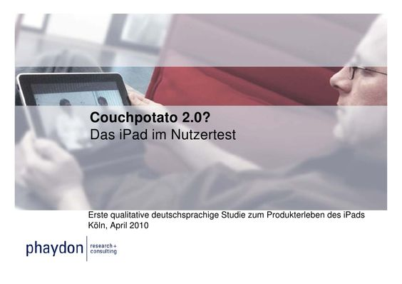couchpotato-20-das-ipad-im-nutzertest by phaydon | research consulting via Slideshare