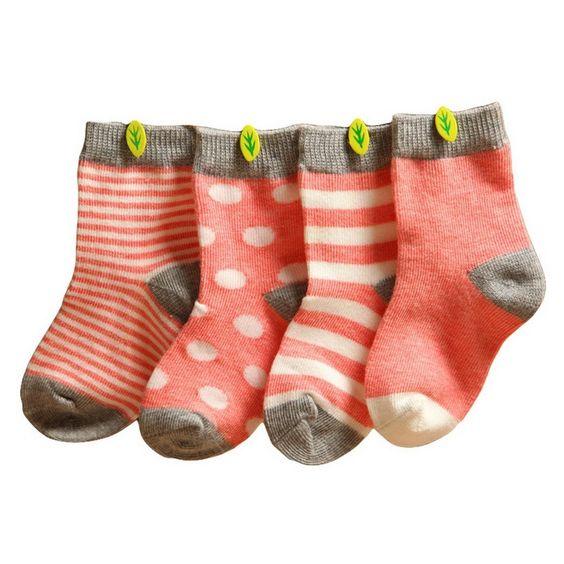 Happy Cherry Vintage Baby Socken - Weihnachten Geschenke für Kinder  Christmas mit Baby