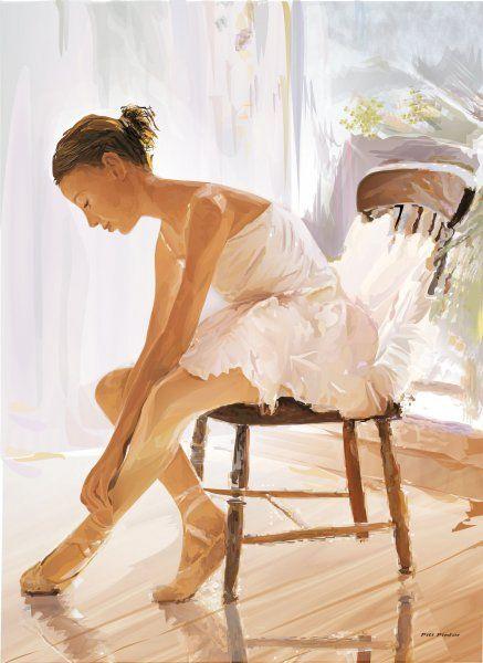Bailarina - Imágenes de Retratos en Temática General   Dibujando