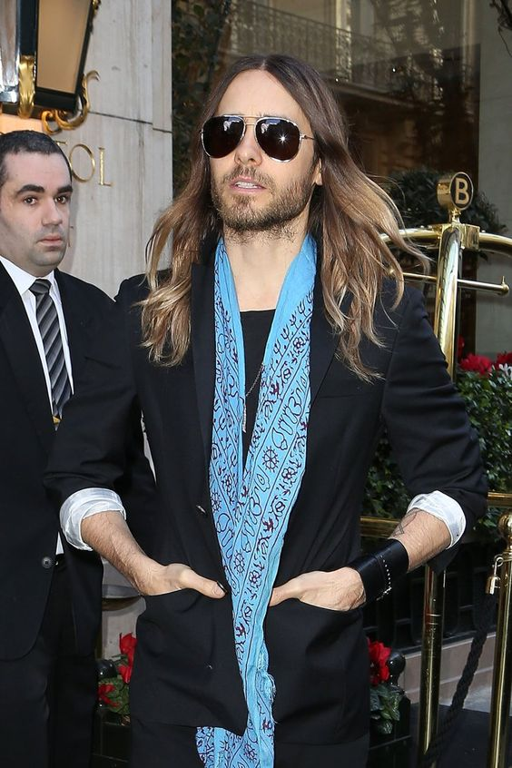 Pin for Later: Join Us in Obsessing Over Jared Leto's Amazing Hair Evolution 2014