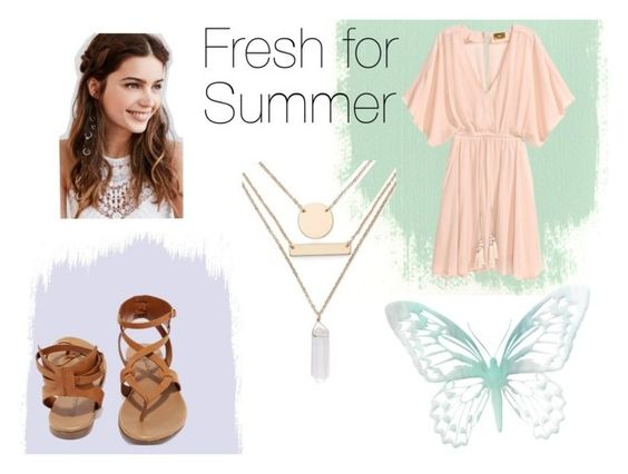 """""""Fresh for Summer"""" by brubyx ❤ liked on Polyvore featuring Breckelle's, REGALROSE and Jules Smith"""