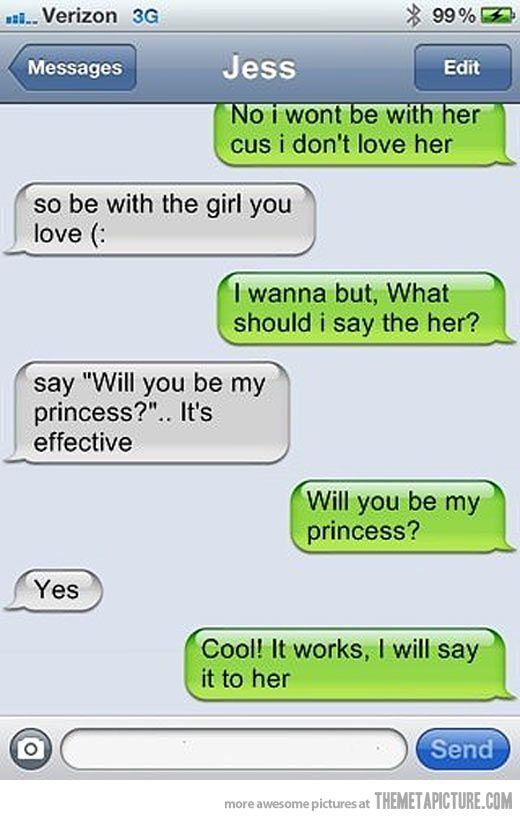 send flirtatious text messages