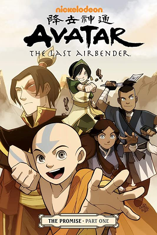 Free Download Avatar The Last Airbender The Promise Part 1 By Avatar The Last Airbender The P Dessin Pdf Book Vigan