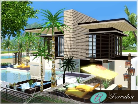 Torridon house by aloleng sims 3 downloads cc caboodle for Beach house designs for sims 3