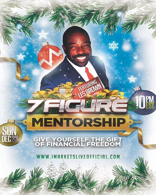 This Is Incredible Les Brown Is With Iml Lesbrown Iml