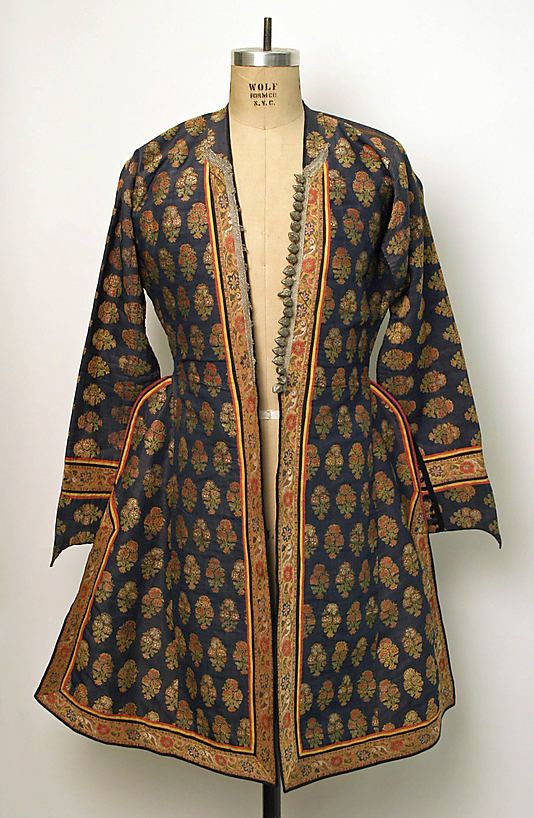 Iranian, robe, 18th-19th centuries