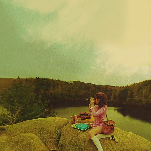 Cuss Yeah, Wes Anderson. Yellow hues and everything.