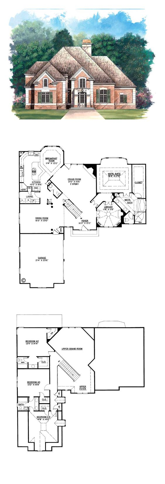 European greek revival house plan 98205 house plans for Greek revival floor plans