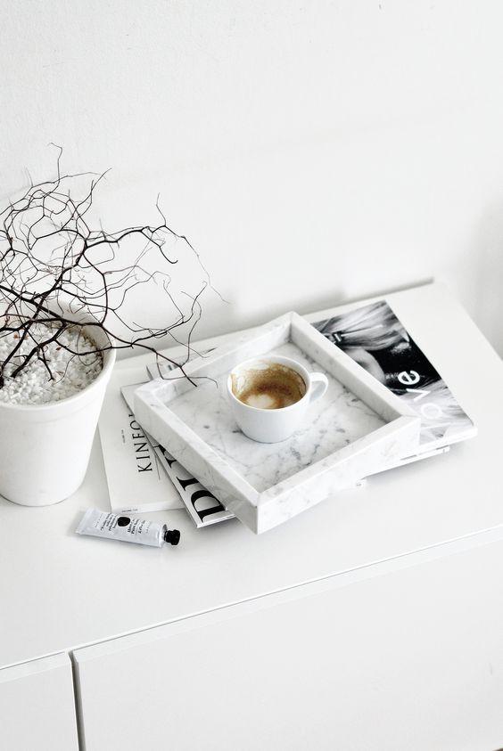 magazine | coffee | floral | ❀ krystalynlaura: