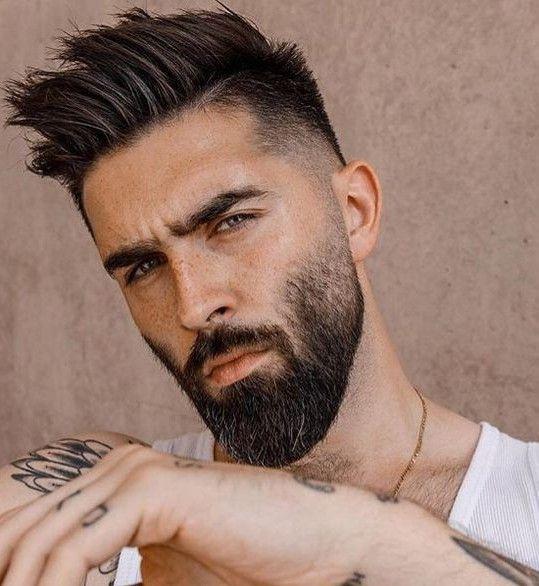 Barba Y Estilo De Pelo Estilos De Pelo Barbas Y Cabello Estilos De Cabello Hombres