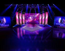 concert stage design 11 3d model d concerts and models - Concert Stage Design Ideas