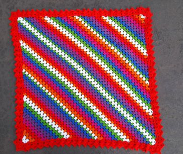 Afghans,Granny Squares and Joining Methods