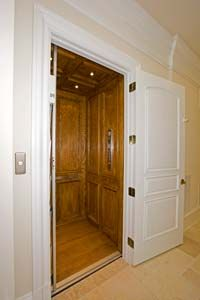 elevator and ceiling trim