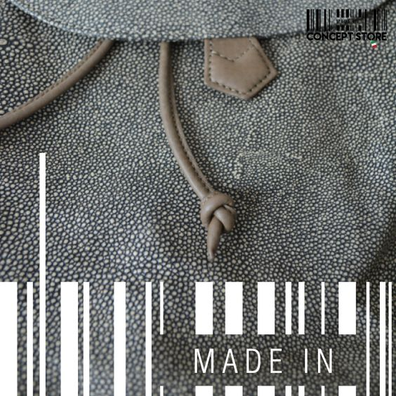 Grey texture by MADE IN designers. #Backpack #ConceptStore #Boutique #MexicanDesign