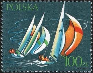 Znaczek: Yachting (Polska) (Sport) Mi:PL 3258,Sn:PL 2959,Yt:PL 3064,Pol:PL 3110