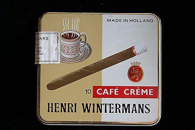 Vintage Tobacco Tin - Henri Wintermans Cafe Creme Small Cigars