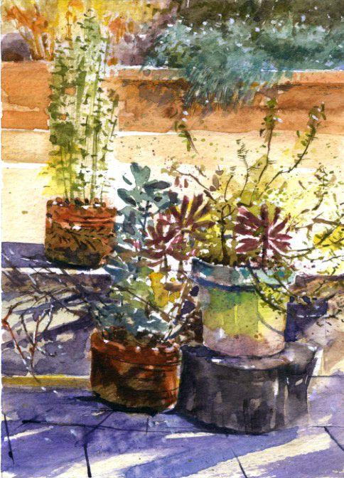 Sherry Schmidt Watercolors In 2020 Plein Air Watercolor Watercolor Watercolor Paintings