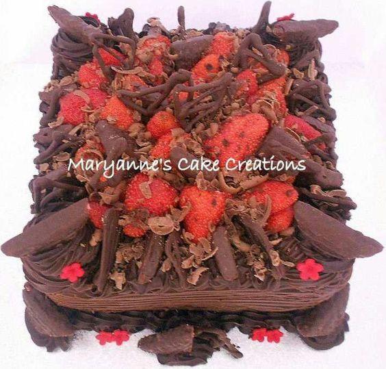 Maryannes chocolate creation