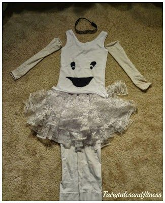 Making a ghost costume for running or for fun