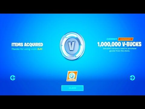 I Got 1 Million V Bucks For Free Using This Glitch Fortnite How To Get Free V Bucks Chapter 2 Youtube In 2020 Fortnite Glitch Mobile Game