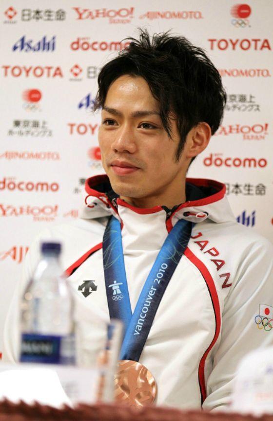 2010オリンピック会見の高橋大輔さん