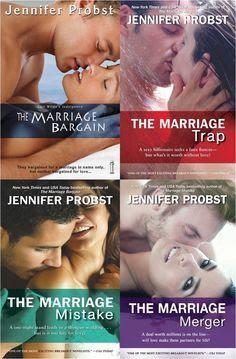 Românticos e Eróticos  Book: Jennifer Probst - Marriage to a Billionaire #1 a #...