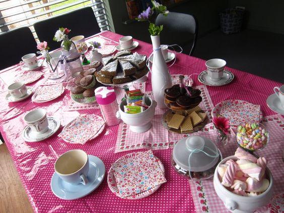 High Tea Tafel Decoratie